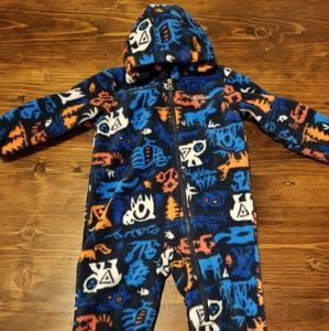 Columbia Fleece Snowsuit 12-18 Months